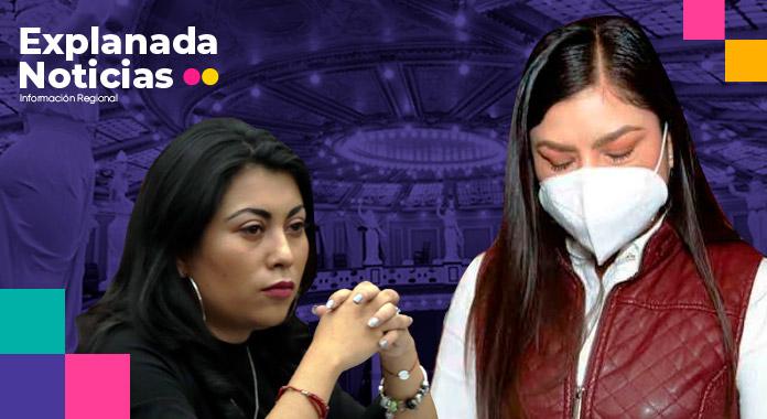 """Con la ciudad """"en pedazos"""" Claudia se involucra en temas legislativos"""