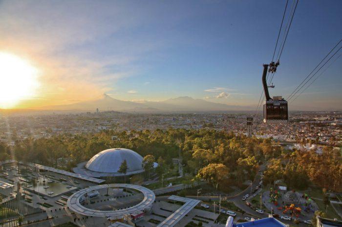 Solo 48 de 531 mdp de su inversión ha recuperado el Teleférico de Puebla