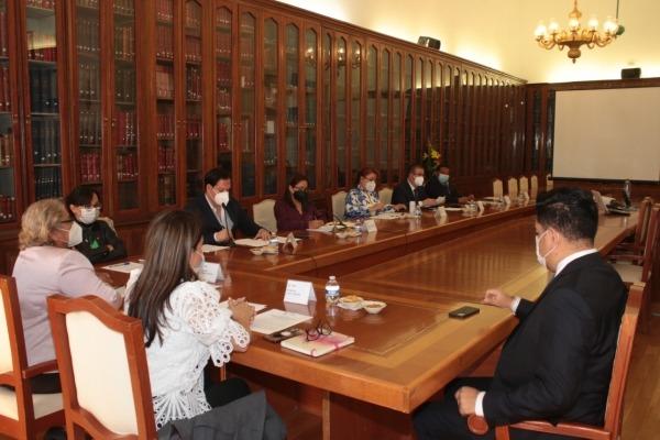 Mesa Directiva del Congreso del Estado presenta informe de Trabajo Legislativo