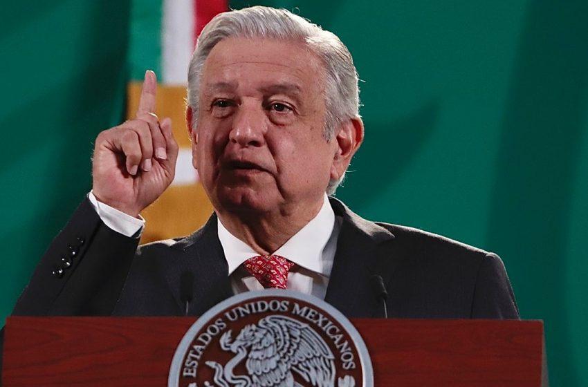 Me da mucho gusto y también felicito al gobernador de Puebla: AMLO por mesas de seguridad