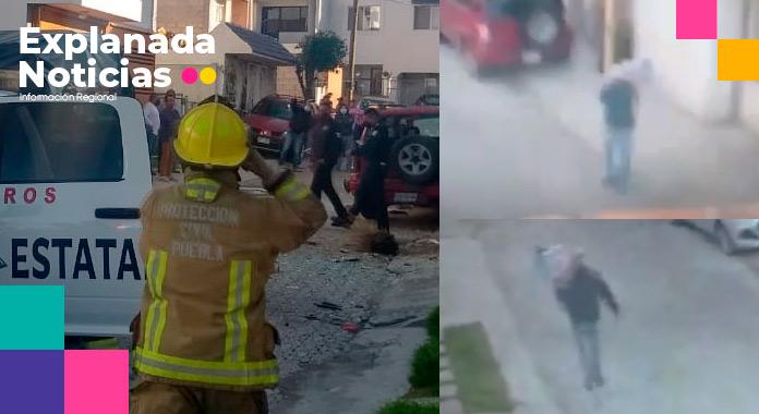 Explosión en Real de Guadalupe se originó por bomba casera