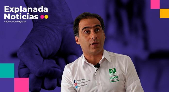 Michel Chaín, secretario de Gestión y Desarrollo con Eduardo Rivera, acusado de violencia por su ex pareja