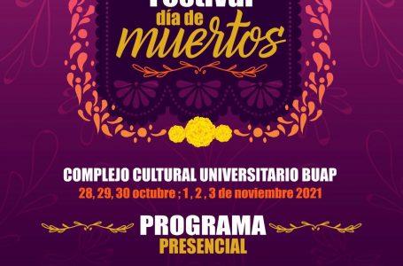 FESTIVAL DE DÍA DE MUERTOS EN EL COMPLEJO CULTURAL UNIVERSITARIO DE LA BUAP