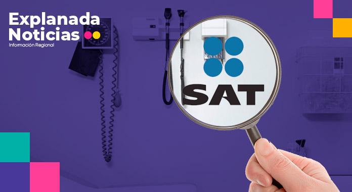 SAT endurecerá sanciones a médicos que no estén al corriente de sus obligaciones fiscales
