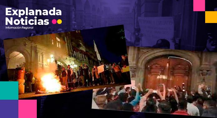 Sindicalizados del ayuntamiento protestan contra basificación ventajosa de Claudia Rivera